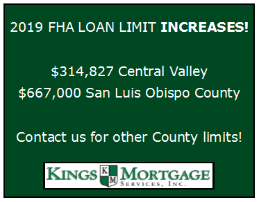FHA 2019 Loan Limits